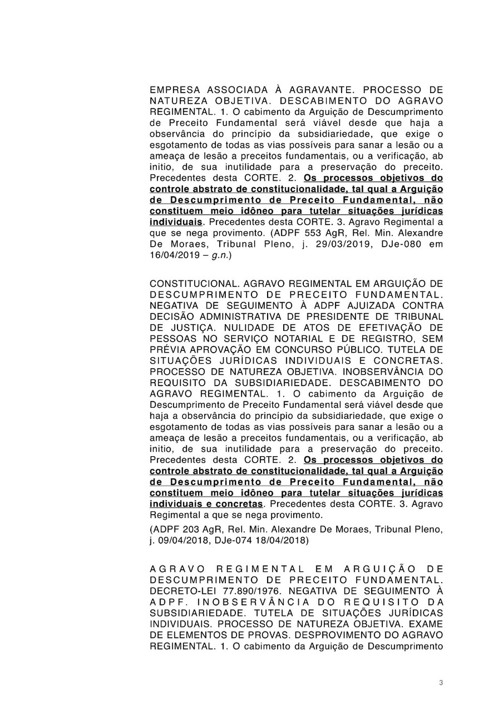 Petição Jorge Salgado STF Vasco página 3
