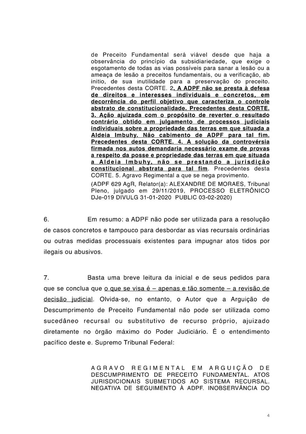 Petição Jorge Salgado STF Vasco página 4