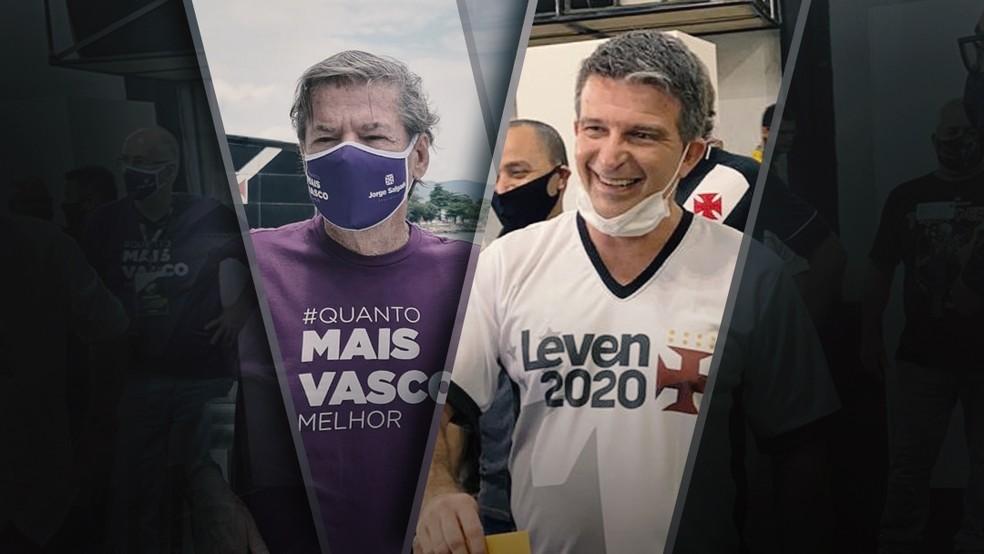 Jorge Salgado e Leven Siano