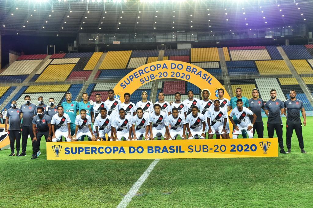 Equipe campeã da Super Copa do Brasil Sub-20 de 2020